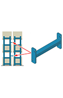 Structural Pallet Rack - Steel King, Accessories