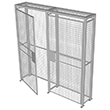 Wire Mesh Security Cabinet