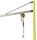 Floor-Mounted Jib Cranes