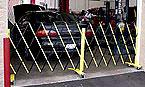 Dock door security gates steel folding security gates