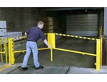 Folding Rail Dock Safety Gate