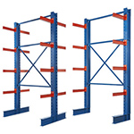 I-beam style cantilever rack - Single & Double Sided