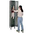 Hallowell Ventilated Athletic Locker