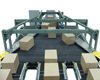 Zipper Wide Belt Merge Conveyor