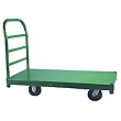 Platform trucks - steel, wood, poly, aluminum