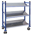 "Mobile Tilt Shelf - 72"" High"