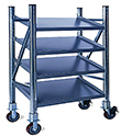 "Steel Mobile Pick Shelves - 60"" High"