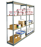 Rivet Shelving for Industrial Applications