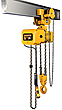 Electric Chain Hoists with Geared Trolleys