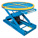Pallet Positioners, Turntables & Tilters