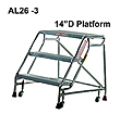 Aluminum Mobile Ladder Stands