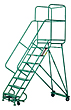 Heavy-Duty Mobile Ladder Stands