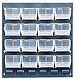 Clear View Louvered Panel Rack