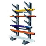 Medium Duty Cantilever Rack - Jarke Button On