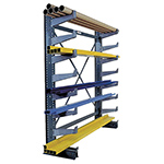 Jarke light duty cantilever rack