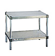 Aluminum Adjustable Shelf Equipment Stands
