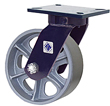 76 Series Casters with Cast Iron Wheels