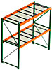 Steel King Pallet Rack, With Decking