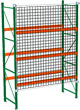 Rack with Safety Netting