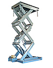 American Lifts by Autoquip Double High Compact Scissor Lift