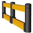 Flexible Impact Guard Rail Systems