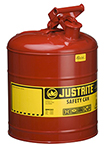 Red Flammable Liquid Safety Can