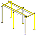 Floor Supported Rail Systems