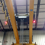 Overhead Crane Warning Lights