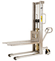 Manual Lift Stainless Steel Stackers