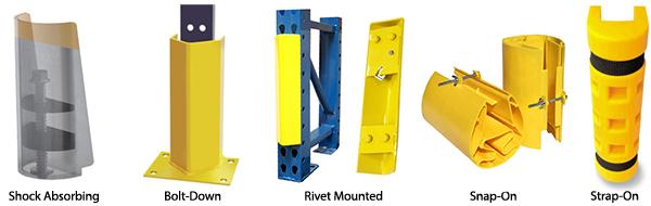 Pallet Rack Frame Protector Rack Post Guards