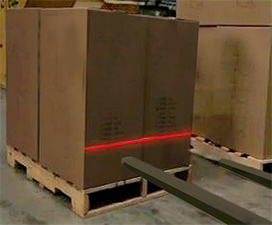 Fork Guidance Lasers