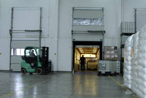 shipping & receiving dock doors