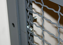 inaccessible hardware for security cages