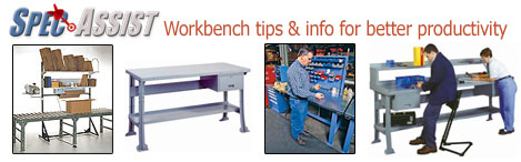 work bench tips and information