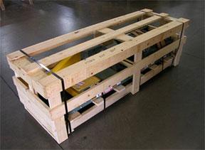 Hytrol conveyor crating