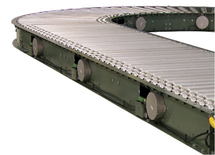 e24 curve conveyor