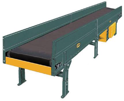 Trash Conveyor - Trough Bed Belt