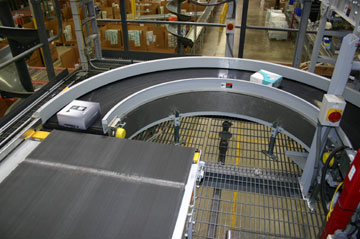 Transnorm Belt Conveyor Curve Curved Conveyor Belts