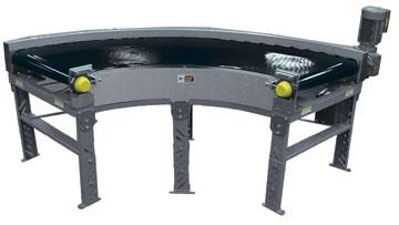 belt conveyor curve