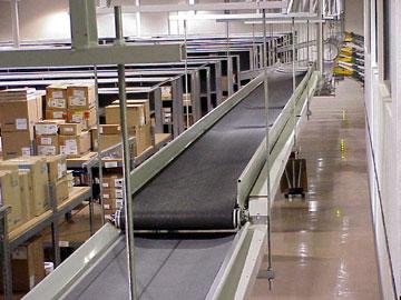 Trough conveyor - overhead