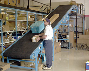 Using conveyors safely