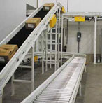 White Conveyor Finish