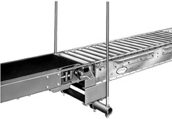 ceiling hangar conveyor supports
