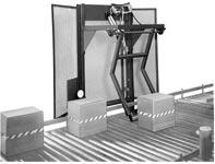 overhead conveyor pusher