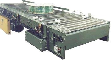 roller conveyor centering device