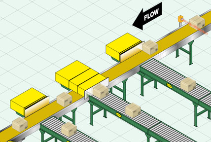 conveyor belt diverters