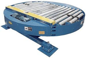 Power Roller Conveyor Turntable
