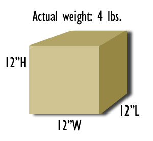 Dimensional Weight Illustration