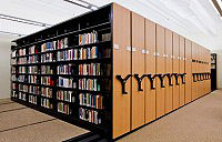 Education Mobile Shelving System