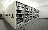 Government Mobile Shelving Storage Compact Filing